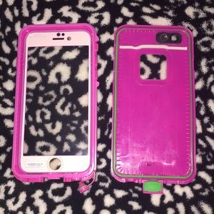 Life proof iPhone 6 6s case pink